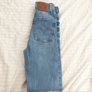 Levi's mile high super skinny jean